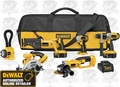 DeWalt DCK655X Heavy-Duty XRP Cordless 6-Tool Combo Kit