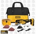 DeWalt DCS355D1 Cordless Multi-Tool Kit
