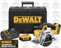 DeWalt DCS373M2 Cordless Metal Cutting Circular Saw