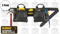 DeWalt DG5472 2pk 12-Pocket Leather Tool Belt Pouch Set