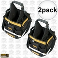 "DeWalt DG5582 2pk 11"" Electrical/Maintenance Tool Carrier with Parts Tray"
