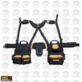 DeWalt DG5617 20 Pocket Pro Framer's Combo Apron with Yoke-Style Suspenders