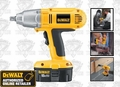 DeWalt DW059K-2 18 Volt High Torque Impact Wrench Kit