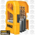 DeWalt DW1969 Pilot Point HSS Wood-Metal Drill Bit Set