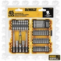 DeWalt DW2145 45 pc Screwdriving and Bit Set