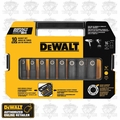 "DeWalt DW22812 10 Piece 1/2"" Impact Ready Socket Set"