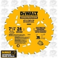 "DeWalt DW3199 7-1/4"" 24T Thin Kerf Framing Saw Blade"