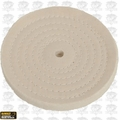 "DeWalt DW4980 6"" Cotton Polishing Buffing Pad with 5/8"" arbor"