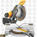 "DeWalt DW716 12"" Heavy-Duty Double-Bevel Compound Miter Saw"