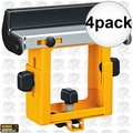 DeWalt DW7232 4pk Replacement Miter Saw Stand Material Support and Stop