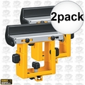 DeWalt DW7232 2pk Miter Saw Stand Material Support and Stop