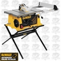 "DeWalt DW744X Heavy-Duty 10"" Job Site Portable Table Saw"
