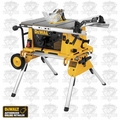 "DeWalt DW744XRS 10"" Compact Job Site Table Saw & Rolling Stand"
