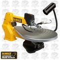 "DeWalt DW788l 20"" Variable-Speed Scroll Saw + Light Kit"