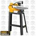 "DeWalt DW788 20"" Variable-Speed Scroll Saw + Light + Stand Kit"