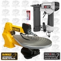 "DeWalt DW788 PIN138 20"" V-Speed Scroll Saw & Porter-Cable PIN138 Kit"