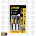 "DeWalt DWA2240IR 3pk Cleanable Nut Driver Set (1/4"", 5/16"", 3/8"")"