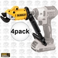 DeWalt DWASHRIR 4pk Impact Ready 18 Gauge Shear Attachment