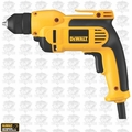 "DeWalt DWD112 Heavy-Duty 3/8"" VSR Pistol Grip Drill PLUS Keyless Chuck"