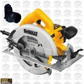 "DeWalt DWE575R 7-1/4"" (184mm) Lightweight Circular Saw Kit"