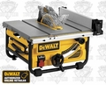 DeWalt DWE7480 10'' Heavy Duty Table Saw