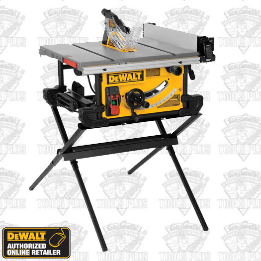 Dewalt Table Saw Folding Stand Dwe7490x 10 Jobsite With Compact