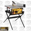 DeWalt DWE7490X Jobsite Table Saw with Compact Folding stand