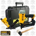 DeWalt DWFP12231 2in1 Flooring Nailer + 18 Gauge Brad Nailer Kit