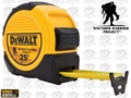 DeWalt DWHT33373L 25' Tape Measure Wounded Warrior Project #DWHT33373LWW