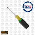 DeWalt DWHT66419 Square Tip Vinyl Grip Screwdriver