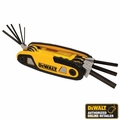 DeWalt DWHT70263M Metric Folding Hex Key Set