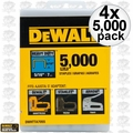 "DeWalt DWHTTA7055 4x 5,000pk 5/16"" Heavy-Duty Staples"