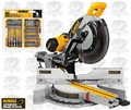 DeWalt DWS780 Double-Bevel Sliding Compound Miter Saw Kit