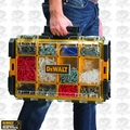 "DeWalt DWST08202 22"" Tough System Case with Clear Lid, Black"