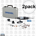 Dremel 4000-3-34 2pk High Performance Rotary Tool Kit with 34 Accessories
