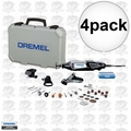 Dremel 4000-4/34 4pk High Performance Variable-Speed Rotary Tool Kit