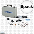 Dremel 4000-4/34 8pk High Performance Variable-Speed Rotary Tool Kit