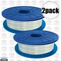 Dremel DF70-01 2pk White Translucent 3D printer Filament 1.75mm