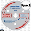 Dremel SM500 8pk Multipurpose Carbide Wheel
