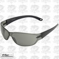 Edge Eyewear AKE116 Savoia Safety Glasses - Black with Smoke Lens