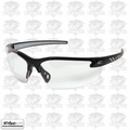 Edge Eyewear DZ111-1.5G2 Black Clear Lens Zorge Safety Glasses