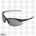 Edge Eyewear DZ116-G2 Black Frame - Smoke Lens Zorge G2 Safety Glasses