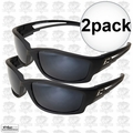 Edge Eyewear TSK21-G15-7 2pk Kazbek Polarized Safety Glasses