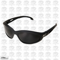 Edge Eyewear TSM216 Dakura Polarized Safety Glasses Black with Smoke Lens