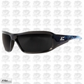 Edge Eyewear XB116-A2 Black/Smoke Lens Safety Glasses Brazeau Apocalypse 2