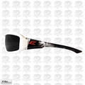 Edge Eyewear XB146-V2 White/Smoke Lens Safety Glasses Brazeau Vigilante 2