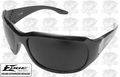 Edge Eyewear YC116 Women's Civetta Safety Glasses Black with Smoke Lens