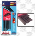 "Eklind 10213 13 pc Long Hex Keys .05"" to 3/8"""