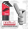Eklind 13212 Long Arm Ball End L-Hex Key Set