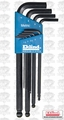 Eklind 13609 Ball End L-Hex Key Set